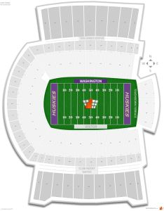 Husky stadium seating chart with row numbers also washington guide rateyourseats rh