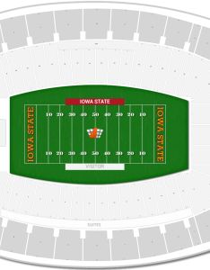 Jack trice stadium seating chart with row numbers also iowa state guide rateyourseats rh