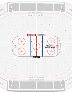 Gila river arena seating chart with row numbers also arizona coyotes guide rateyourseats rh