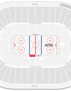 Joe louis arena seating chart with row numbers also guide rateyourseats rh
