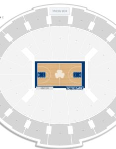 Joyce center seating chart with row numbers also notre dame guide rateyourseats rh