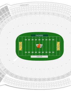 Lambeau field seating chart with row numbers also green bay packers guide rateyourseats rh