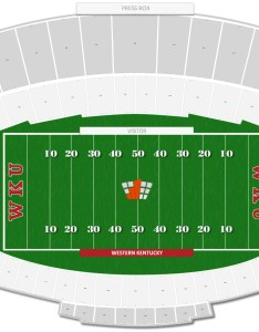Lt smith stadium seating chart with row numbers also western kentucky guide rateyourseats rh