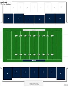 Mackay stadium field level seating chart also nevada guide rateyourseats rh