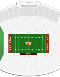 Memorial stadium in seating chart with row numbers also indiana guide rateyourseats rh