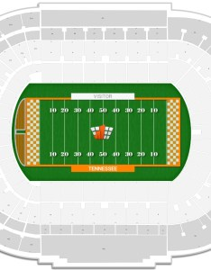 Neyland stadium seating chart with row numbers also tennessee guide rateyourseats rh