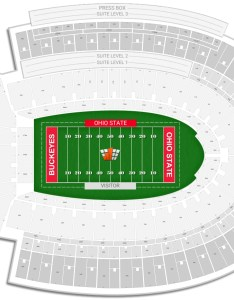 Ohio stadium seating chart with row numbers also state guide rateyourseats rh