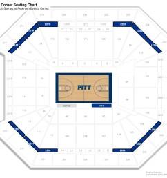 petersen events center premium corner seating chart [ 1600 x 1400 Pixel ]