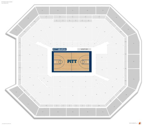 small resolution of petersen events center seating chart with row numbers