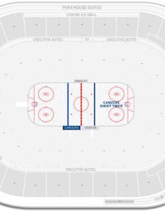 Rogers arena seating chart with row numbers also vancouver canucks guide rateyourseats rh
