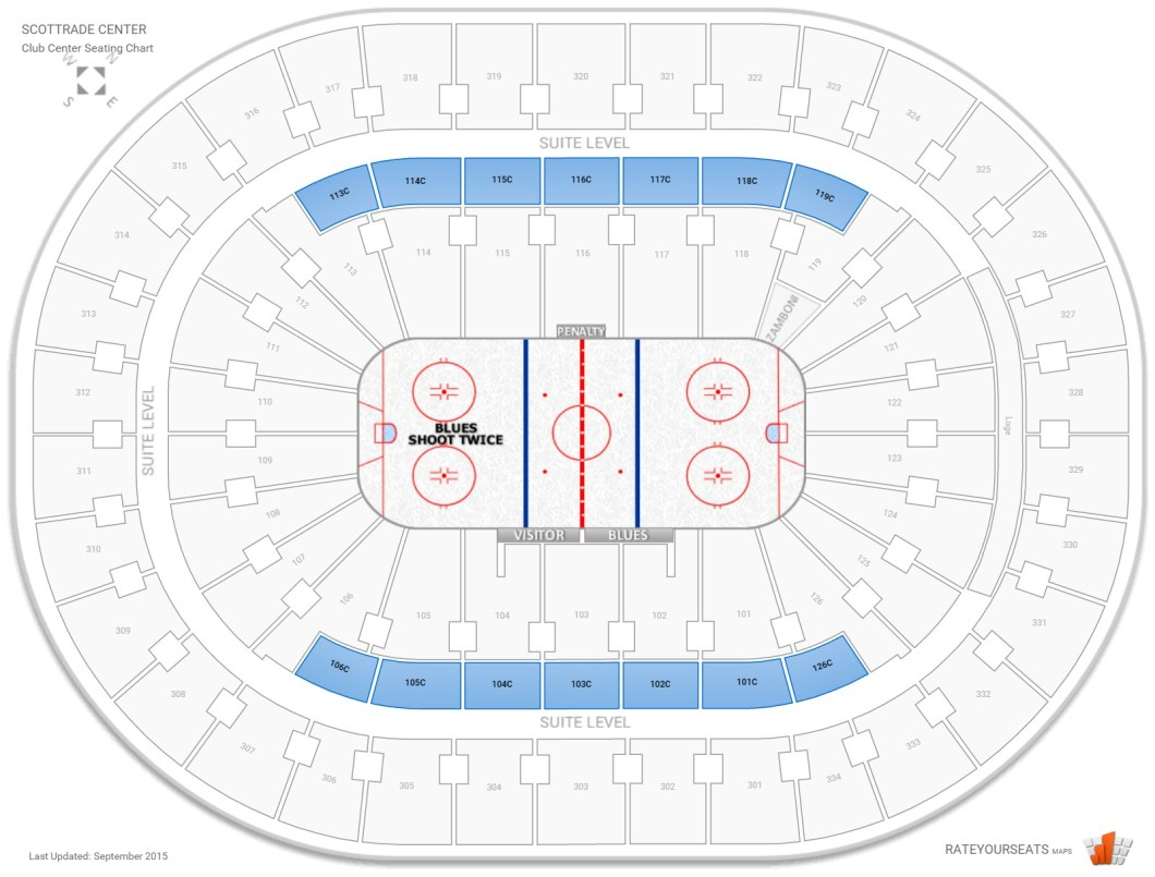 Scottrade Center St Louis Mo Seating Chart Wallseatco