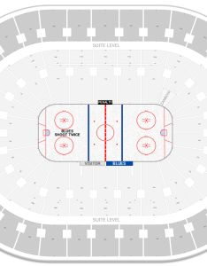 Enterprise center seating chart with row numbers also st louis blues guide rateyourseats rh