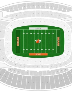 Soldier field seating chart with row numbers also chicago bears guide rateyourseats rh