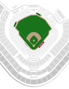 Suntrust park seating chart with row numbers also atlanta braves guide rateyourseats rh