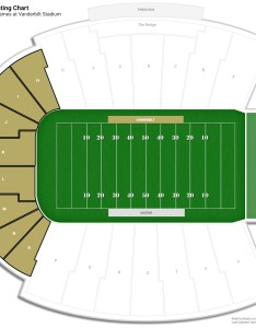 Vanderbilt stadium endzone seating chart also guide rateyourseats rh