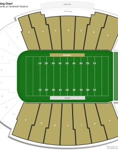 Vanderbilt stadium sideline seating chart also guide rateyourseats rh