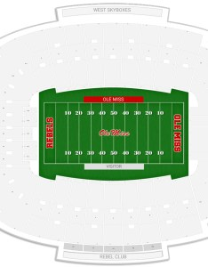 Vaught hemingway stadium seating chart with row numbers also ole miss guide rateyourseats rh