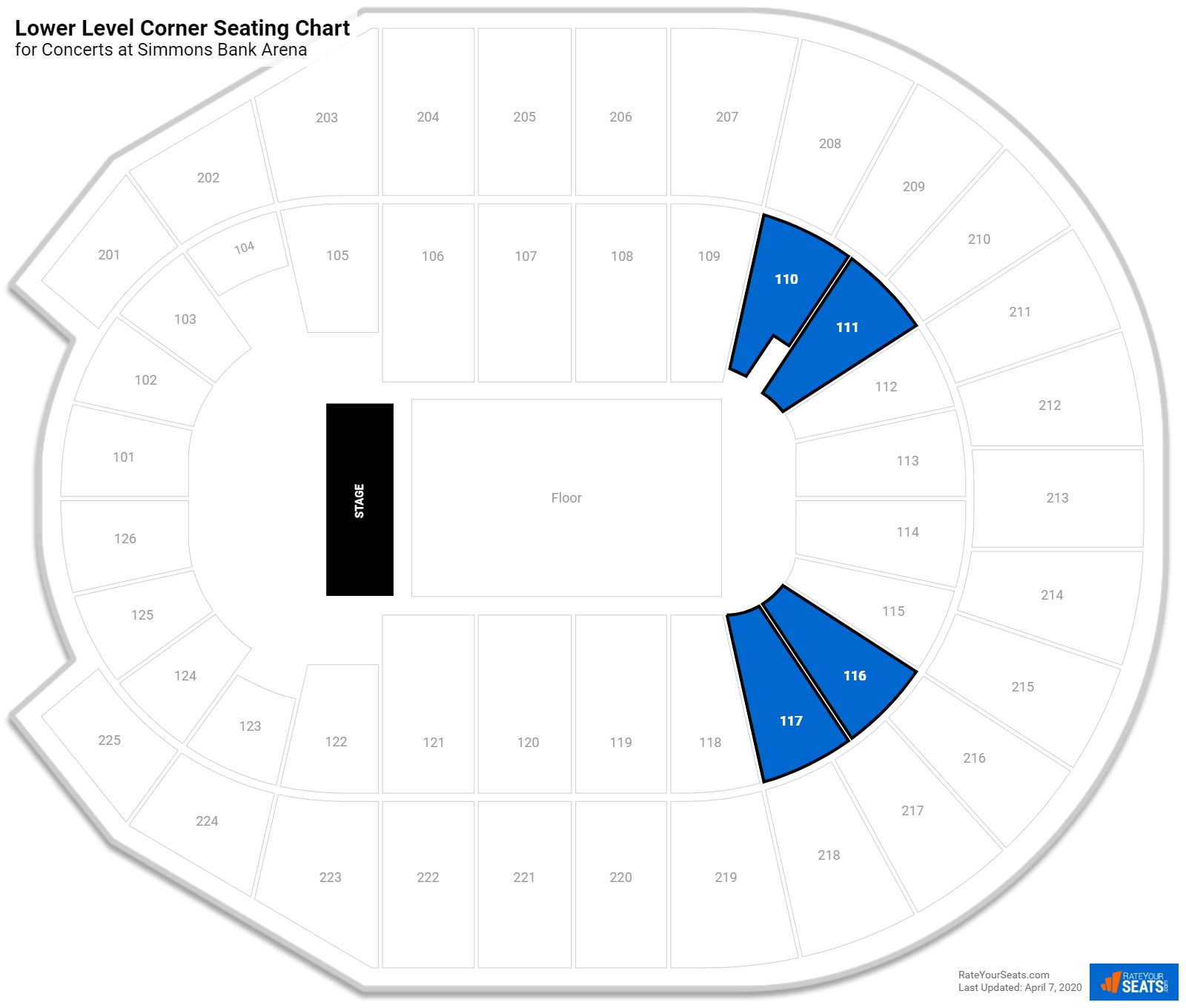 Verizon Wireless Arena Seating Chart With Rows