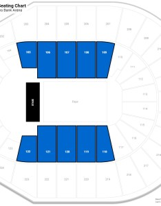 Verizon arena lower level side seating chart also guide rateyourseats rh