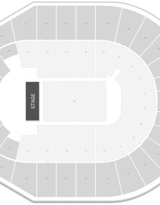 Verizon arena seating chart with row numbers also guide rateyourseats rh
