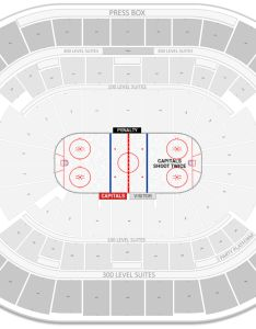 Capital one arena seating chart with row numbers center preferred also washington capitals guide rh rateyourseats