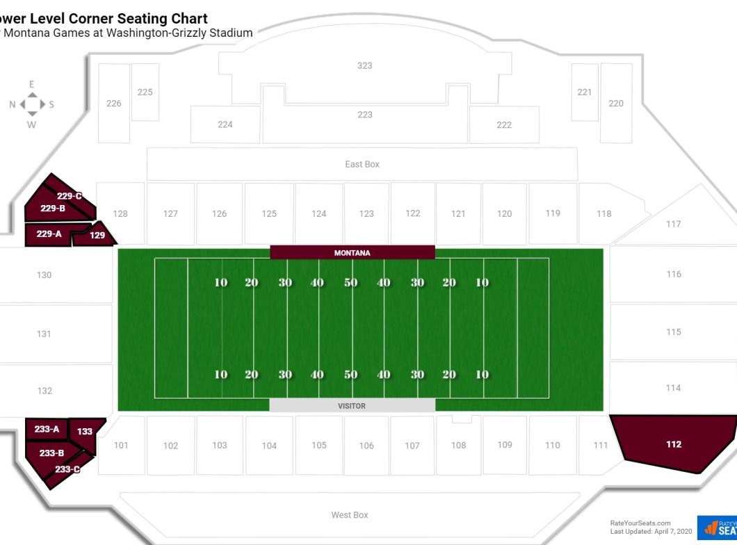 Monmouth Hawks Football Stadium Seating Chart Wallseatco
