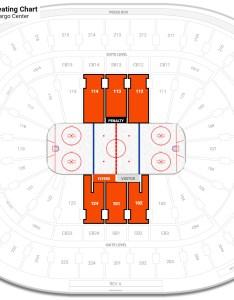 Wells fargo center mezzanine level behind the net hockey seating rateyourseats also rh