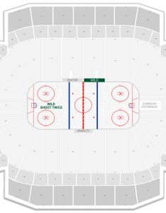 Xcel energy center seating chart with row numbers also minnesota wild guide rateyourseats rh