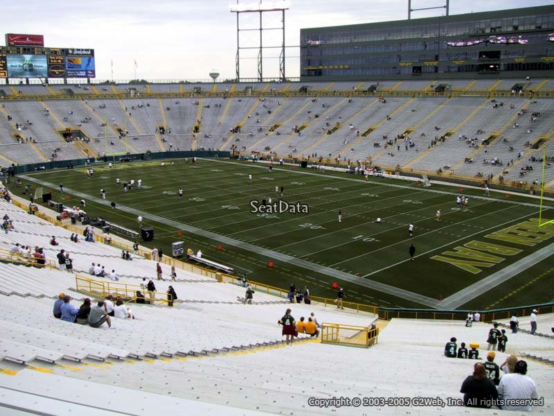 Lambeau Field Section 405