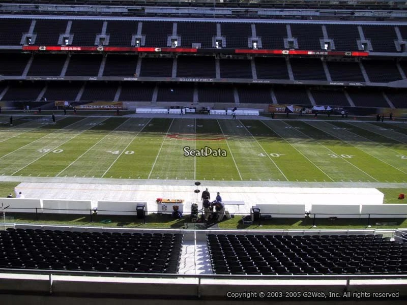 Soldier Field Section 237  Chicago Bears  RateYourSeatscom