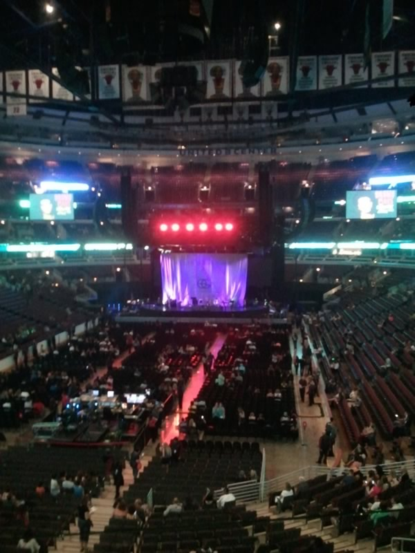 United Center Section 208 Concert Seating Rateyourseats Com