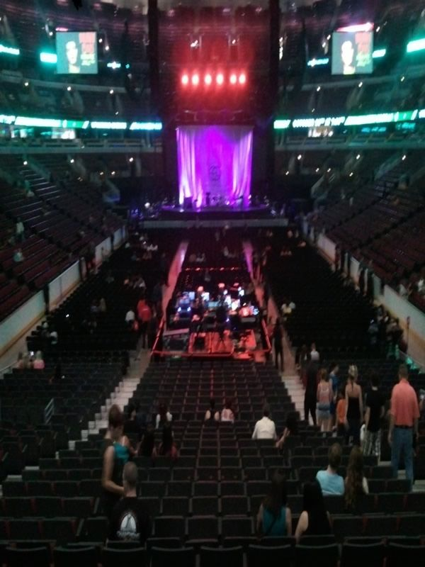 Directly Facing the Middle of the Stage United Center