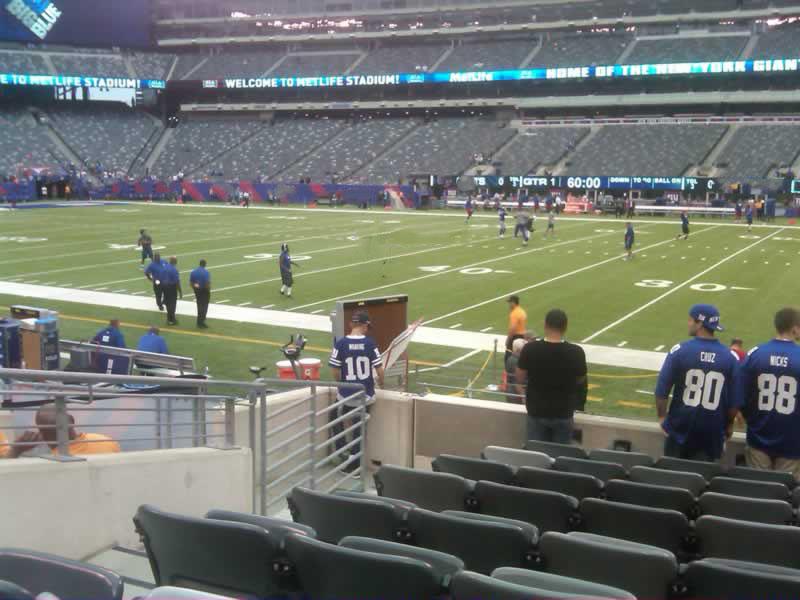 Metlife Stadium Section 135 Giants Jets Rateyourseats Com