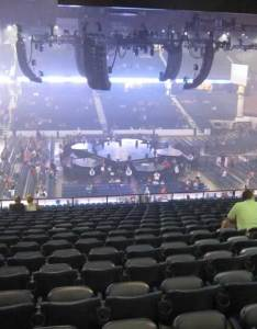 Concert seat view for allstate arena section also seating rateyourseats rh