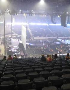 Concert seat view for allstate arena section row  also seating rateyourseats rh