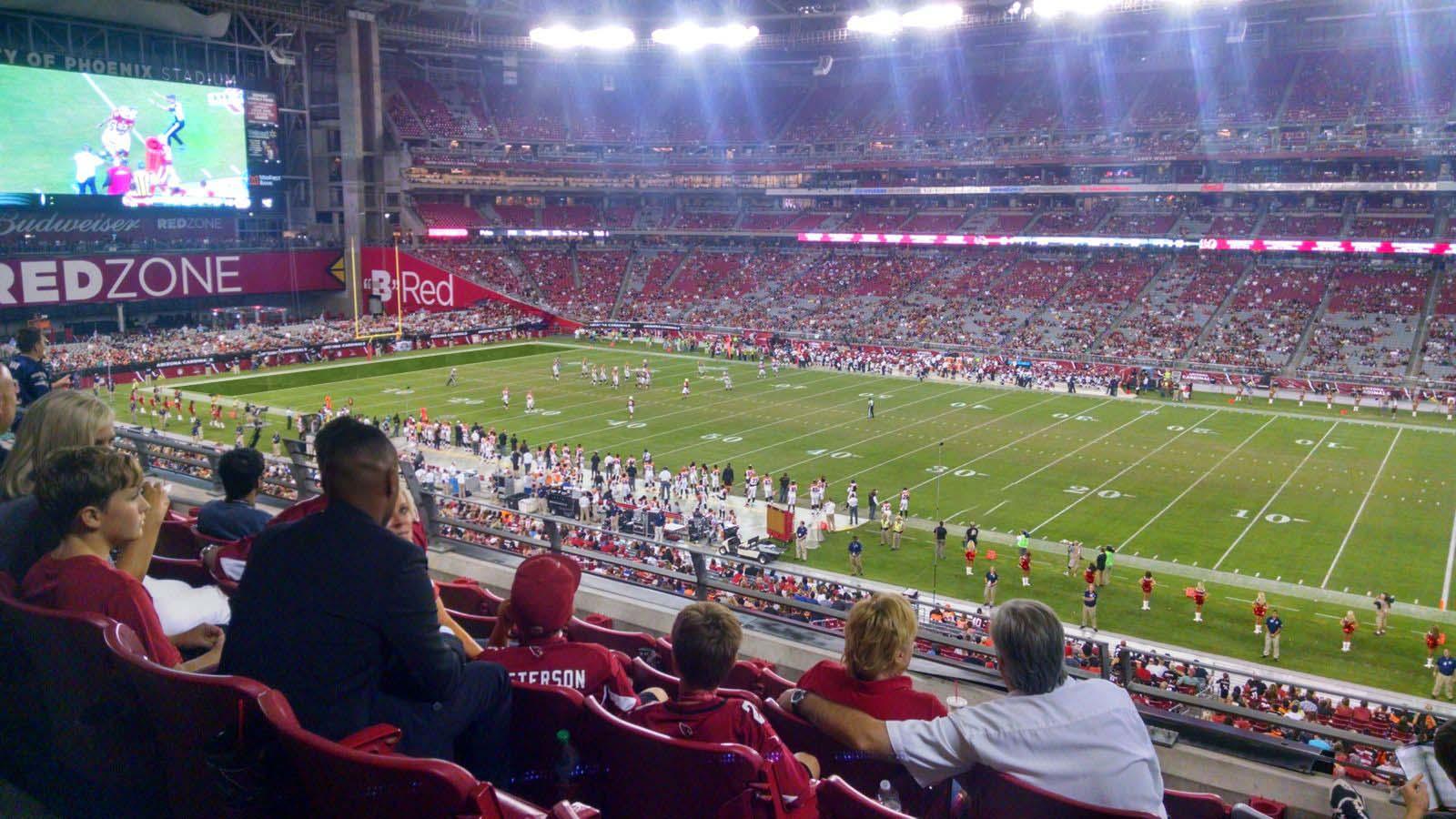 State Farm Stadium Section 233  Arizona Cardinals