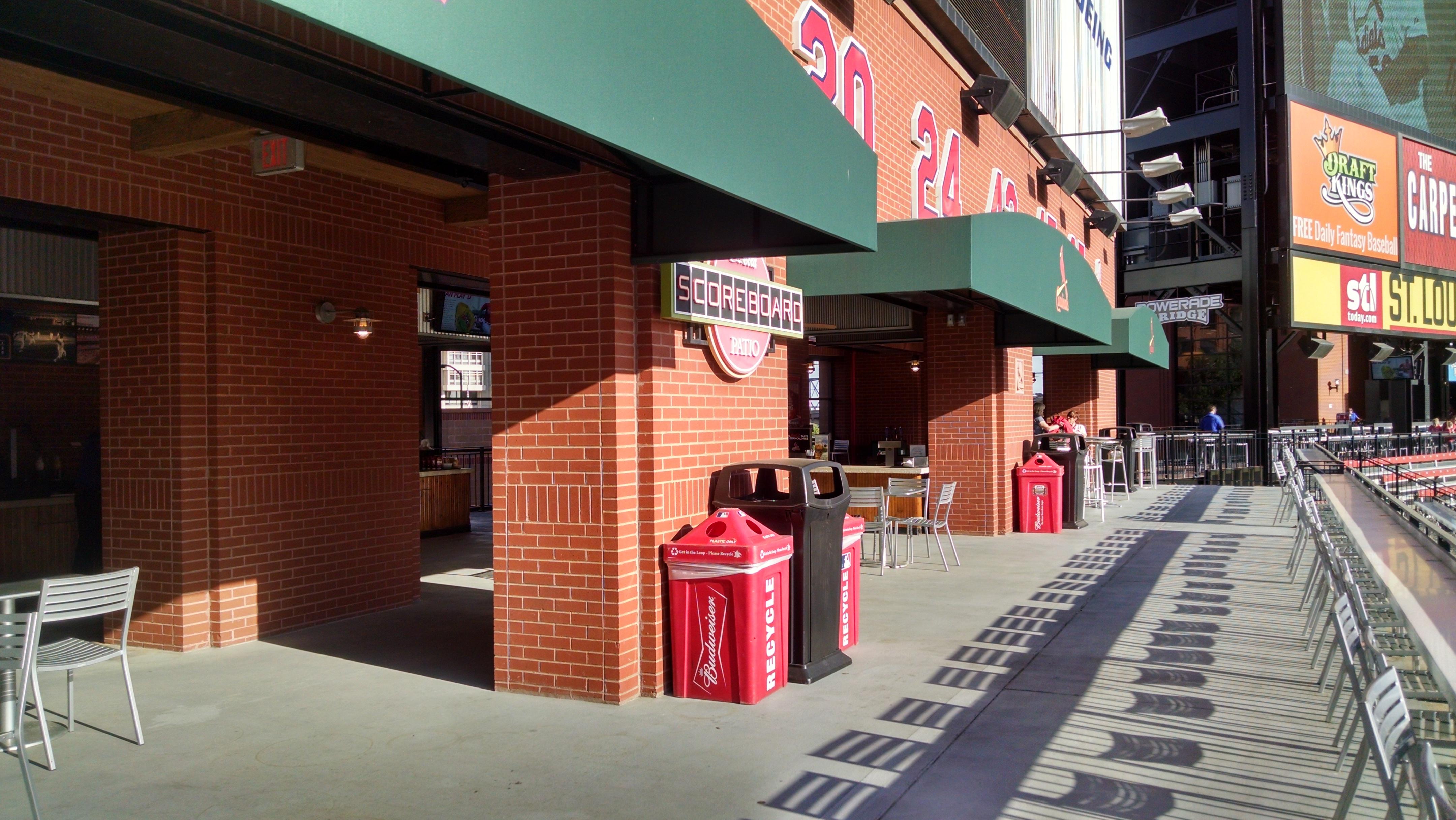 Fantastic All Inclusive Amenities Busch Stadium Coca