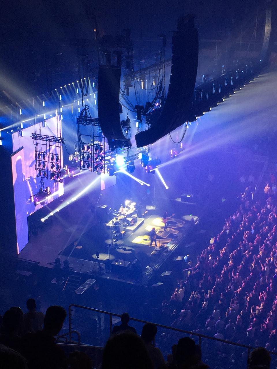 SAP Center Section 216 Concert Seating  RateYourSeatscom