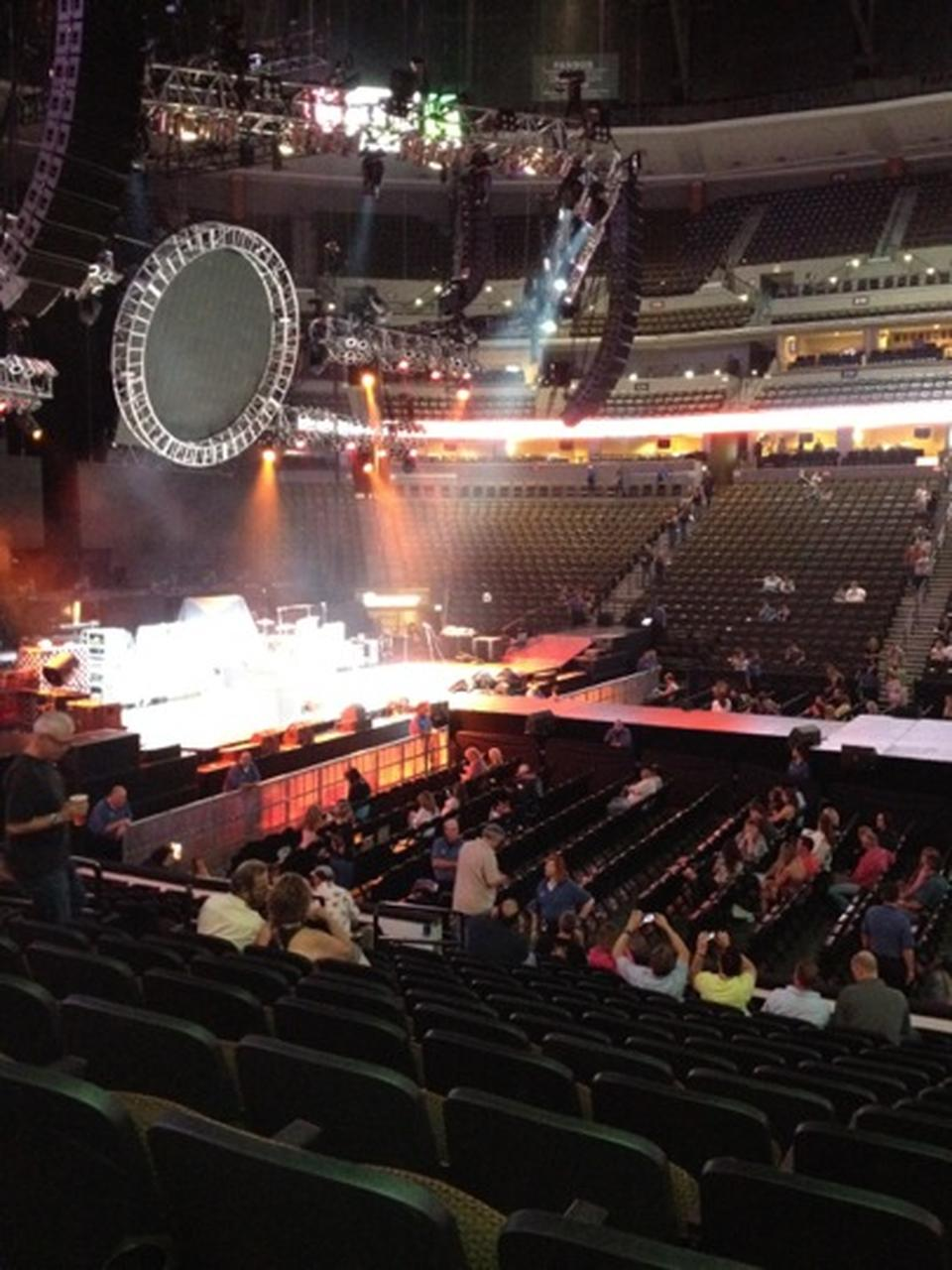 16 Row House Interior Design Ideas: Pepsi Center Concert Section 302