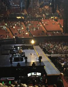 Concert seat view for the forum box also rateyourseats rh