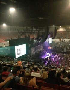 Concert seat view for pechanga arena terrace also rateyourseats rh