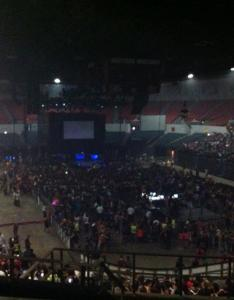 Concert seat view for pechanga arena terrace  row also rateyourseats rh