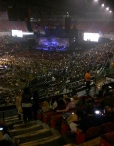 Concert seat view for valley casino center terrace  also rateyourseats rh