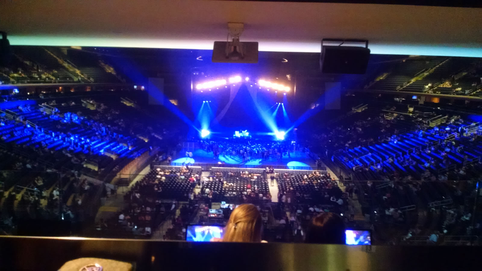 Great Bar Rail Seats for a Show Madison Square Garden