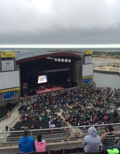 Concert seat view for northwell health at jones beach theater mezzanine also rateyourseats rh