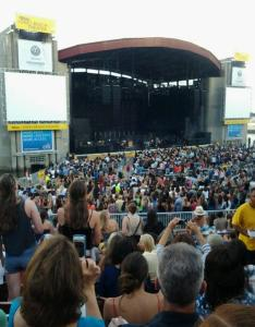 Concert seat view for northwell health at jones beach theater stadium  row  also rateyourseats rh