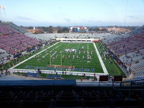 Independence Stadium Section 223 RateYourSeatscom