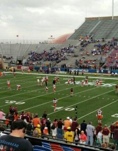 Seat view for independence stadium section row  also rateyourseats rh
