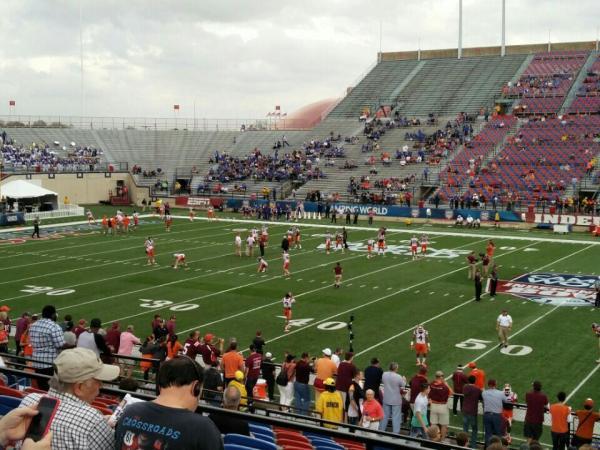 Independence Stadium Section 102 RateYourSeatscom