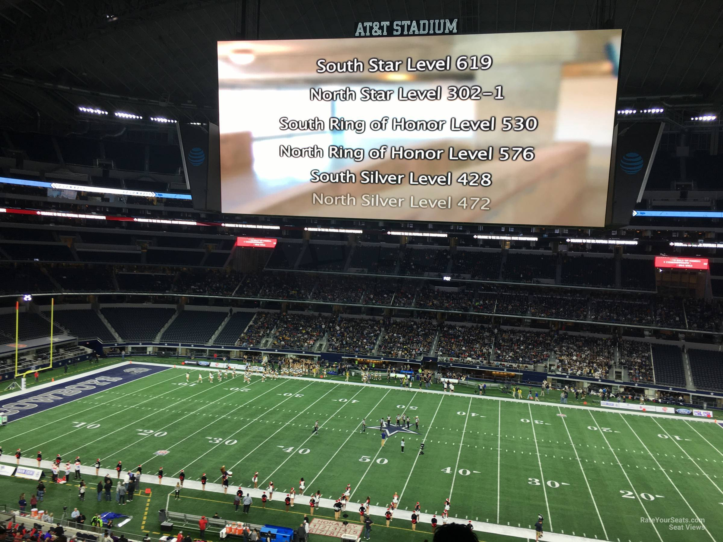 dallas cowboys theater chairs steel express chair car seating stadium chart mezzanine awesome home